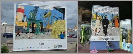 Tintin à Saint-Nazaire