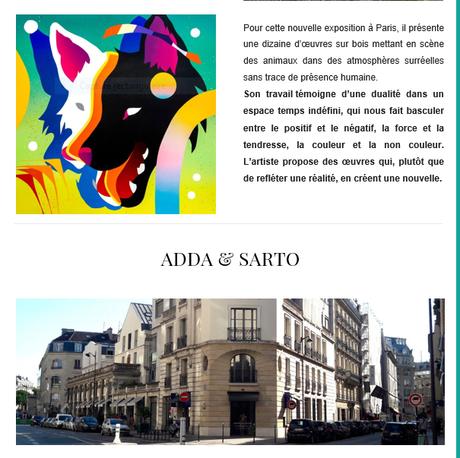 Galerie Adda & Sarto  « SABEK – Nulle Part -«