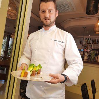 Thomas Balland et le Croustillant de saumon
