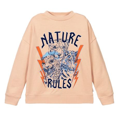 MOLO Nature rules sweatshirt