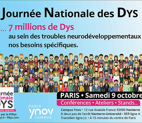 #SANTE - Programme de la Journée Nationale des #Dys du 9 octobre 2021 !