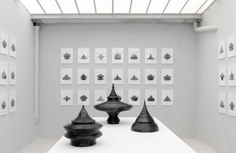 MATHIEU LEHANNEUR - Age of the World, Ceramic Jars