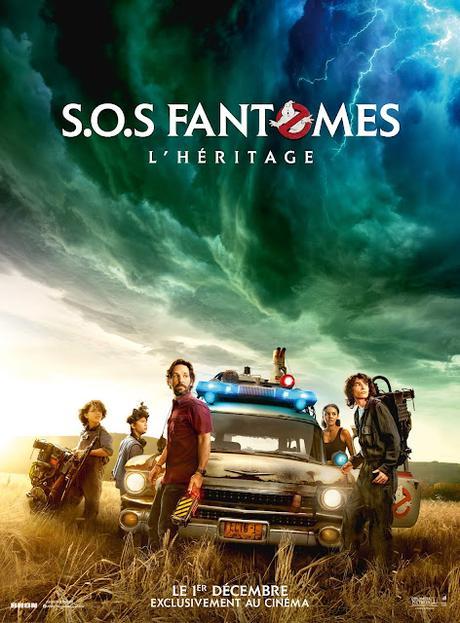 Nouvelles affiches US et FR pour S.O.S. Fantômes : L'Héritage de Jason Reitman
