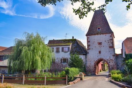 Portes fortifiées d'Alsace - la Tour Arrière à Bœrsch © French Moments