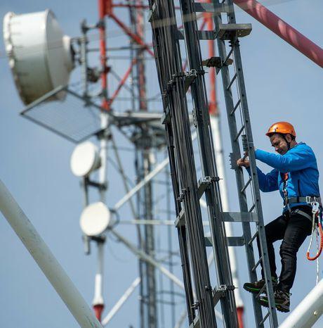 #ORANGE - Nouvelle antenne relais 4G mise en service à Flottemanville-Hague !