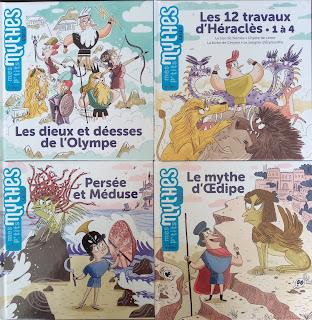 Nouvelle collection: Mes p'tits mythes aux éditions Milan