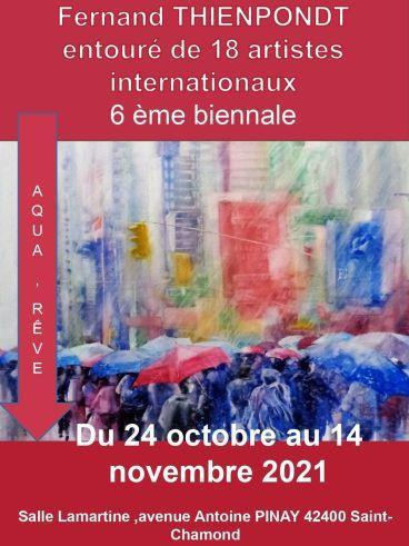 Biennale d'aquarelle de Saint-Chamond