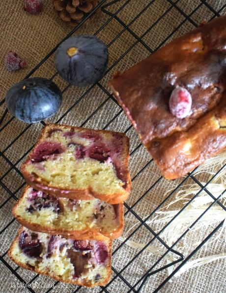 Cake figues framboises