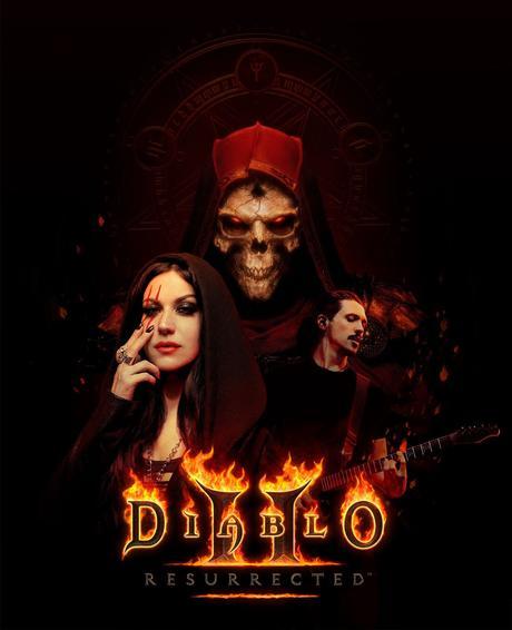 Diablo II Resurrected - #GAMING #MUSIQUE -  Cristina Scabbia et Mark The Hammer présentent Start Again !
