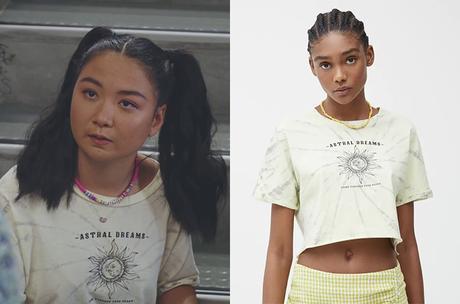 PLUS BELLE LA VIE : le t-shirt soleil d'Iris dans l'épisode 4375