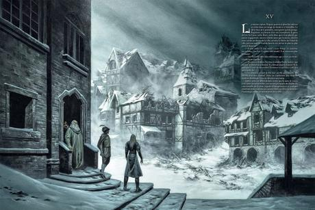 The Witcher illustré : Le Dernier Vœu deSapkowski& Bourgouin