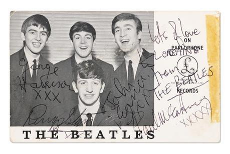 De belles set-lists des Beatles aux enchères
