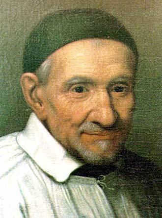 Saint Vincent de Paul Prêtre, Fondateur d'Ordres (1581-1660)