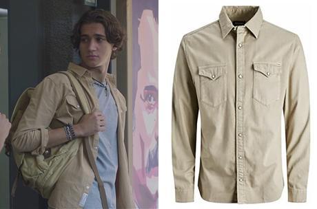 DEMAIN NOUS APPARTIENT : la chemise beige de Dorian dans l'épisode 1022
