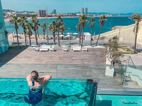 J'ai testé : le mythique W Barcelona hotel à Barcelone