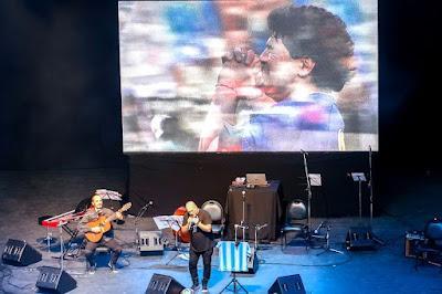 Le Festival de Tango de Buenos Aires a rendu hommage à Maradona [à l'affiche]