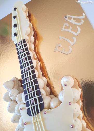 Guitare électrique saveur vanille, pommes et caramel