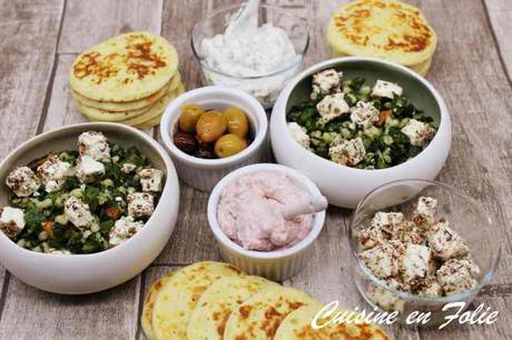 Salade d'orge et de persil de Yotam Ottolenghi