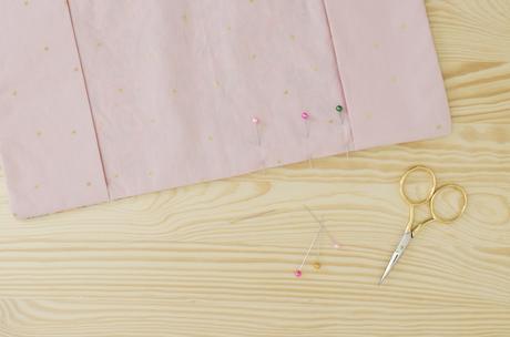 piquer tissu épingle explication - blog clem around the corner