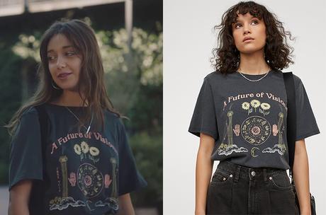 """ICI TOUT COMMENCE : le t-shirt """"Future of visions"""" de Jasmine dans l'épisode 242"""