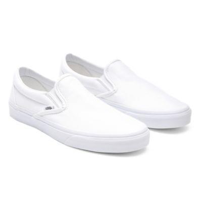 Classic Slip-On Shoes | White | Vans