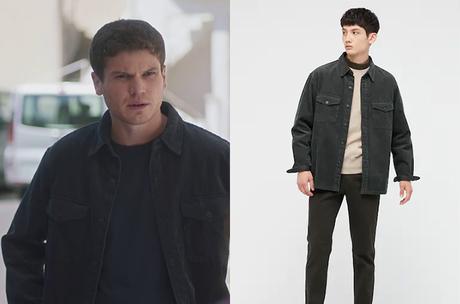 DEMAIN NOUS APPARTIENT : la chemise en velours côtelé de Dimitri dans l'épisode 1030