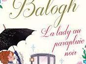 lady parapluie noir Mary Balogh