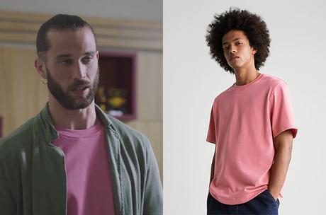 DEMAIN NOUS APPARTIENT : le t-shirt rose d'Apollon dans l'épisode 1031