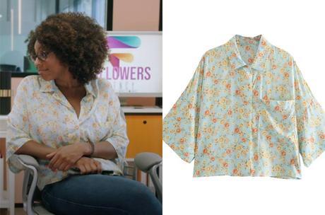INFLUENCES : la nouvelle blouse fleurie d'Adama dans l'épisode 14