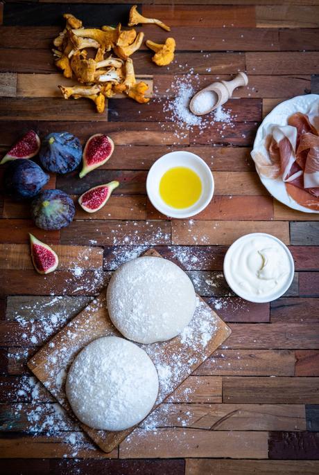 ingrédient recette salé sucré aux figues fraiches