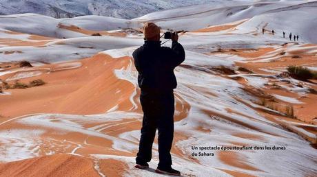 Pays Etranger - La neige en Algérie