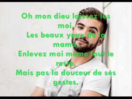 Les Yeux De La Mama Kendji Girac V9 Lyrics Youtube