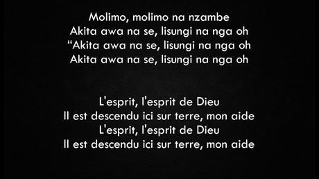 Moise Mbiye Molimo Paroles Lingala Francais Youtube