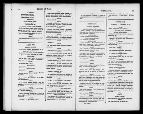 Image 11 Of Frere Et Mari Opera Comique En Un Acte Library Of Congress