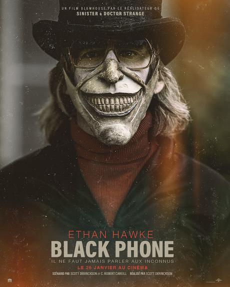 Bande annonce VF pour Black Phone de Scott Derrickson