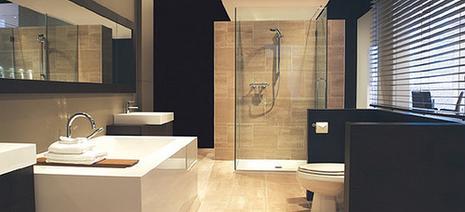 salle de bains moderne photos. free salle de bains moderne photos ... - Salle De Bain Noir Et Beige
