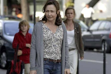 Catherine Frot et Sandrine Bonnaire (au second plan). Diaphana Films