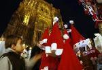 Strasbourg ouvre traditionnel marché Noël