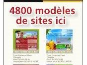 modeles sites internet