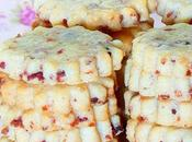 Cranberry shortbread
